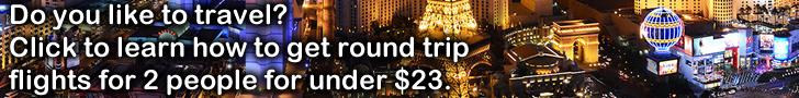 Las Vegas Baby! - Low Price Travel Options - 2 round trip flights for under $23